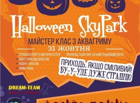 Дамы и господа 31 октября в детском развлекательном центре SkyPark на Вечеринке посвященной хеллоуину выступит с новым номером школа современного танца Dream Team, прихо