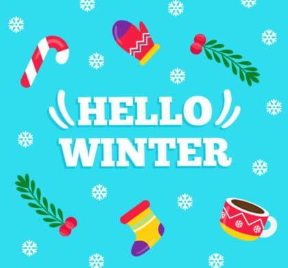 Поздравляем с первым днём зимы!