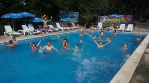Снова басейн